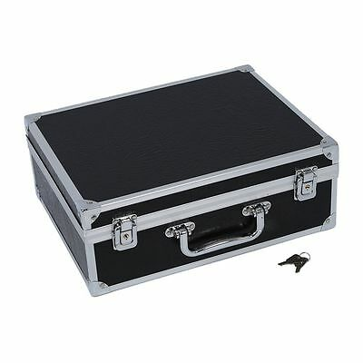 Sunny Large Tattoo Kit Carrying Case with Lock---Black
