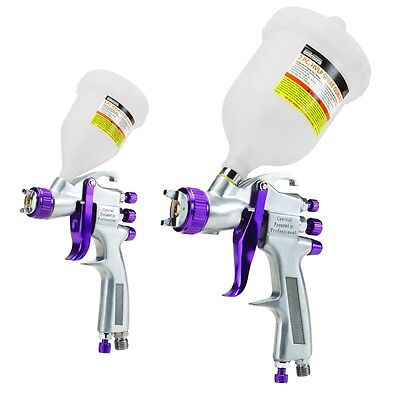2 pc. Professional Automotive HVLP Spray Gun Kit FREE SHIPPING