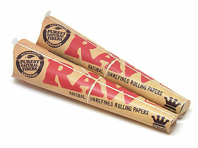 2 Raw pre rolled cones (3 Pack ea) King Size RYO NEW Bundle Wholesale Authentic