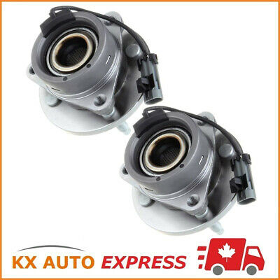 2 FRONT WHEEL HUB BEARING ASSEMBLY CHEVROLET COBALT 2005 2006 2007 w/ABS 4 STUDS