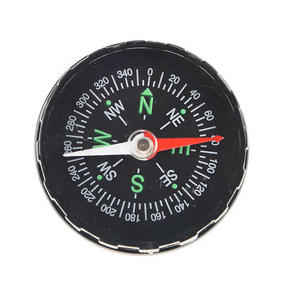 WD New Durable Black Oil Filled Compass Excellent for hiking, camping and out