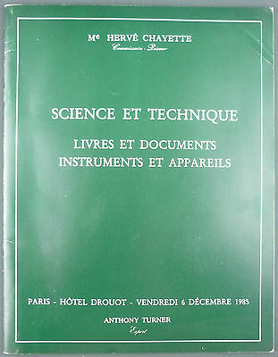 Catalogue Vente Encheres - Chayette - Science Et Technique - Cadrans Solaires…