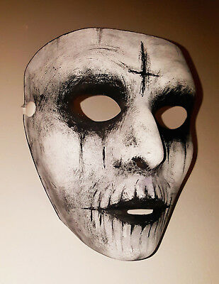 Handmade Custom Painted Mask for Halloween The Purge Anarchy Costume NEW