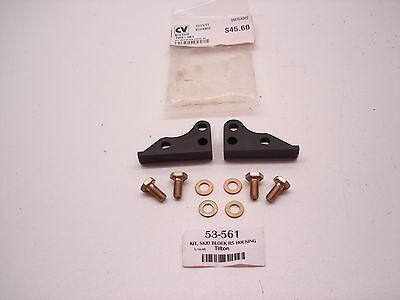 New Nascar Tilton 53-561 53 Series Dodge R5 Bellhousing Steel Skid Plate Kit