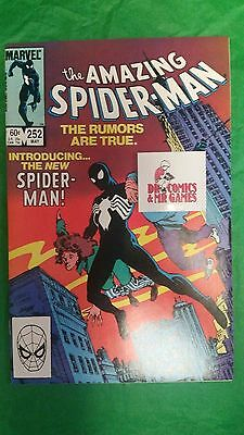 Amazing Spider-Man #252 1st app of Black Costume Spidey SOLID 9.4-9.6 copy