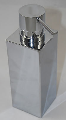 Brewers Geo Square Freestanding Soap Dispenser Chrome
