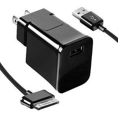 """2016 USB Wall Charger Adapter Cable For Samsung Galaxy Tab 2 Tablet 7"""" 8.9"""" 10.1"""
