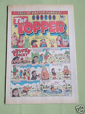 The Topper - Uk Comic - Easter Edition - 10 April 1982 - # 1523