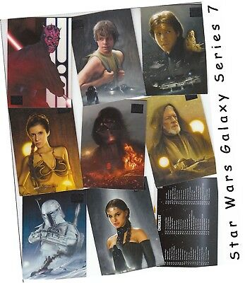 Star Wars Galaxy Series 7 (Seven) - 110 Card Basic/Base Set