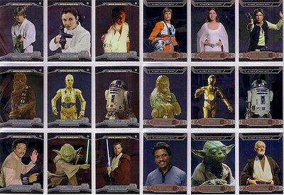 Star Wars Chrome Perspectives 1 - 100 Card Basic/Base Set