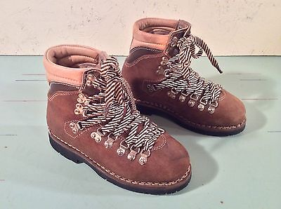 Vintage Teknisport Hiking Boots Womens Size 6 1/2 - 7