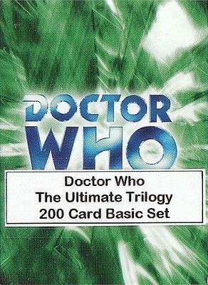 Doctor Who The Ultimate Trilogy - 200 Card Basic/Base Set - Dr Who