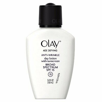 Olay Age Defying Anti-Wrinkle Day Face Lotion SPF 15, 3.4 fl oz