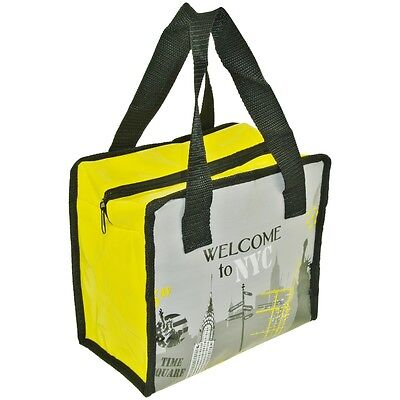 Lunch Bag Sac Panier Repas Fraicheur Isotherme City Welcome TO NYC