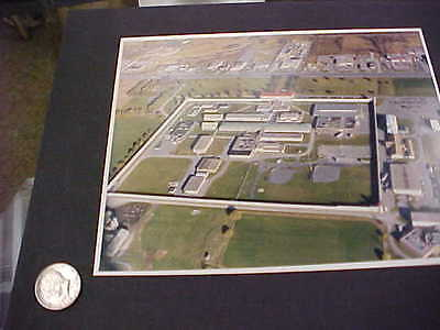 nice original air view of frontenac penitentiary  kingston ontario canada