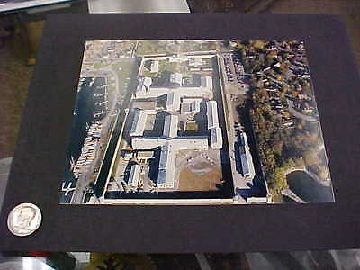 nice original air view of kingston penitentiary  kingston ontario canada