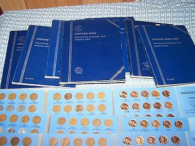 Complete Lincoln Wheat 1941-1958 + Unc Memorial 1959-1974 P,d,s Mint Cent Penny