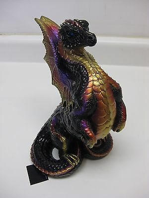 Windstone Editions Black Gold Rising Spectral Dragon