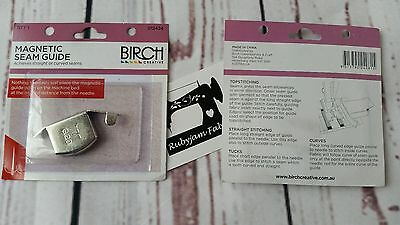 Magnetic seam guide for sewing machine sewperfect curves straight seams FREEPOST