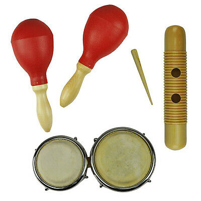 New Drumfire 3-Piece Hand Percussion Set