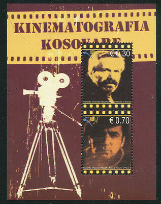 Kosovo 2010 Film Personalities set Sc# 136-39 NH