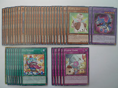 Budget Fluffal Deck * Ready To Play * Yu-gi-oh