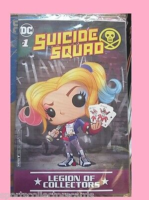 Suicide Squad Harley Quinn #1 DC COMIC FUNKO Legions of Collectors EXCLUSIVE