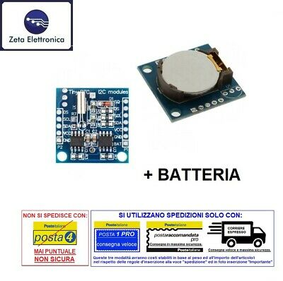 Ds1307 Rtc I2c Module of Real Time Clock Watch Card for Arduino and Battery