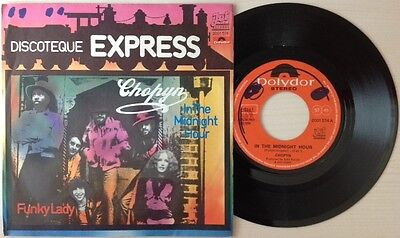 "CHOPYN / IN THE MIDNIGHT HOUR - FUNKY LADY - 7"" (Italy 1975)"
