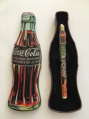 Coca-Cola Collectible Ink Pen w/ Tin Case, By Pentech