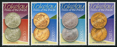 Tokelau 2009 Coins of the Pacific set Sc# 375-78 NH