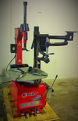 Brand New BRIGHT 885 Tyre Changer Machine, with assist arm 12 month warranty
