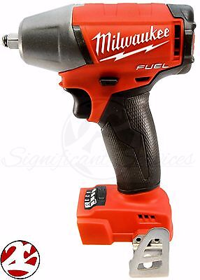 """New Milwaukee 2754-20 M18 FUEL Li-Ion 18V 18 Volt 3/8"""" Compact Impact Wrench FR"""