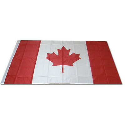 New Large 3x5ft Canadian Flag Polyester Canada Maple Leaf Banner Outdoor CN