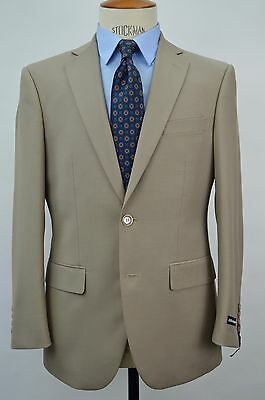 Men's Beige 2 Button Slim Fit Suit SIZE 44L NEW