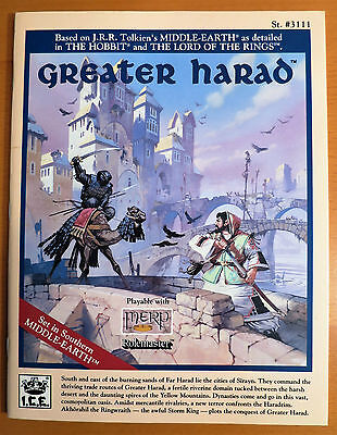 Greater Harad - MERP - Near Mint and Complete