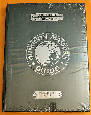 NEW D&D Dungeon Master's Guide Special Edition SEALED from 2004
