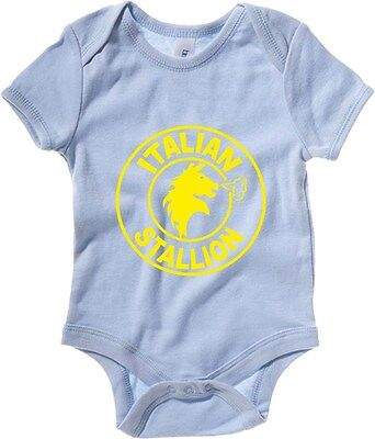 Body neonato T0858 italian stallion film inspired