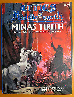 Minas Tirith - Cities of Middle Earth - MERP