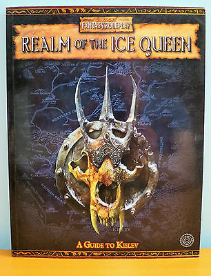 Realm of the Ice Queen NEW Warhammer Fantasy Roleplay 2nd Edition