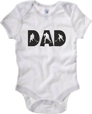 Body neonato OLDENG00108 hockey dad white