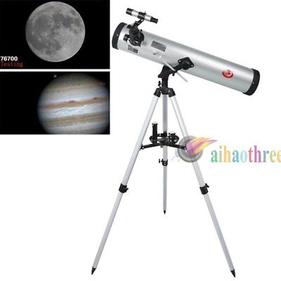 Phoenix 76*700mm 350x HD High Resolution Night Vision Astronomical Telescope【AU】