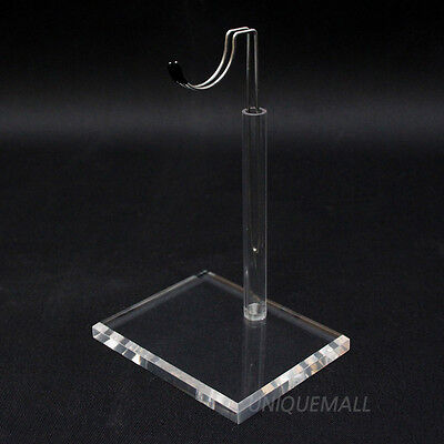 "1/6 12"" TOY BONO Action Figure Doll Clear Acrylic Base Display Stand U Type"