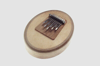 Sansula Deluxe Kalimba with Tuneable Hide Membrane