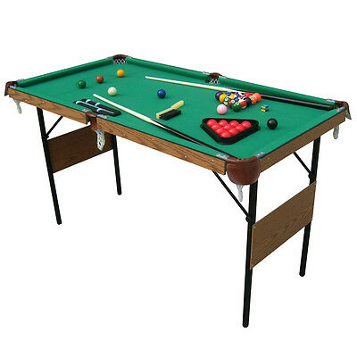 Charles Bentley 4ft 6in 2-In-1 Snooker & Pool Table