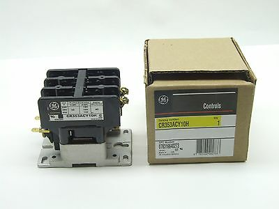 GE Magnetic Contactor CR353ACY10H 24v Coil NEW Single phase or 3 phase