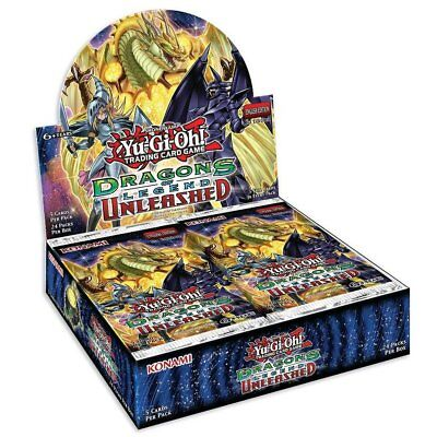 YU-G-OH! TCG Dragons of Legend Unleashed Booster