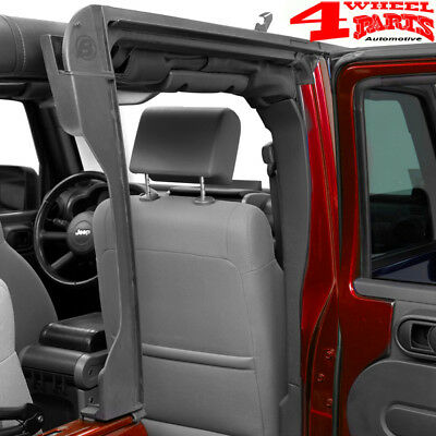 Verdeck Door Surround Komplett Kit hinten Jeep Wrangler JK Bj. 07-18 4-Türer