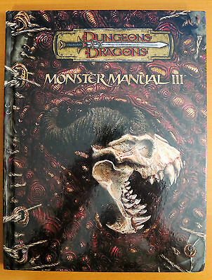 Monster Manual III Dungeons & Dragons 3.5 edition rules