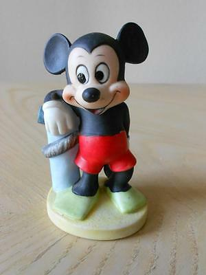 Mickey Mouse Scuba Diving Disney Gift-Ware Figurine Bisque Porcelain